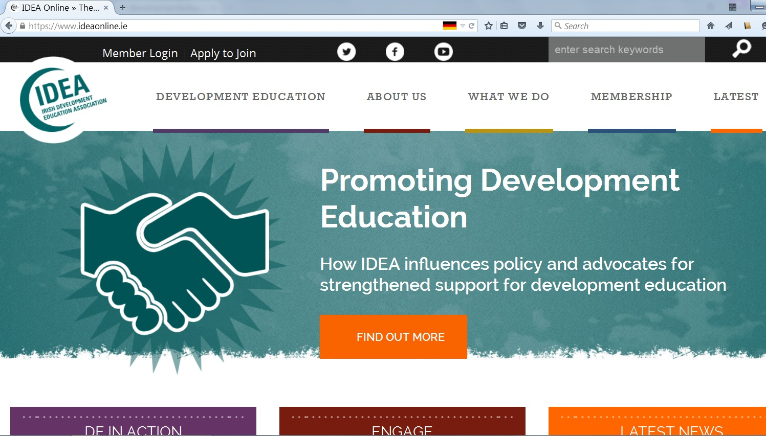 the development of irish education The development education project is funded by irish aid and aims at raising awareness of the global solidarity issues amongst our members the international trade union solidarity work and campaigning is the responsibility and.
